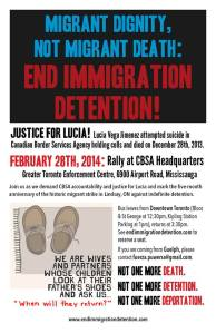 Feb 28 Rally poster