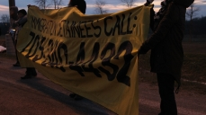 We held up banners with our phone number which is staffed four days a week, 4 hours a day.